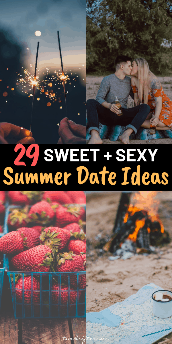 29 Sweet + Sexy Summer Date Ideas for Couples