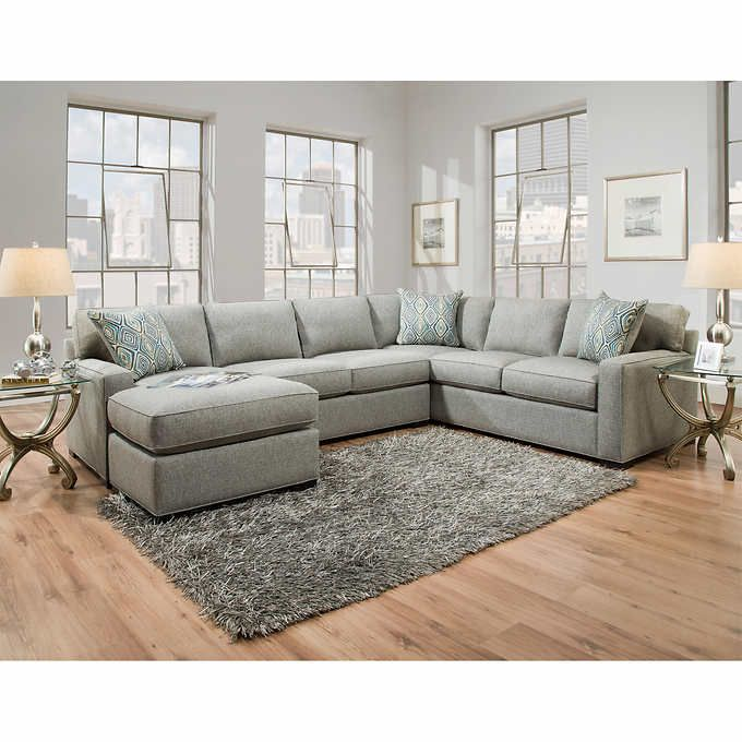 Karissa Fabric Sectional Gray Fabric Sectional Sofas Fabric Sectional Sectional Sofa