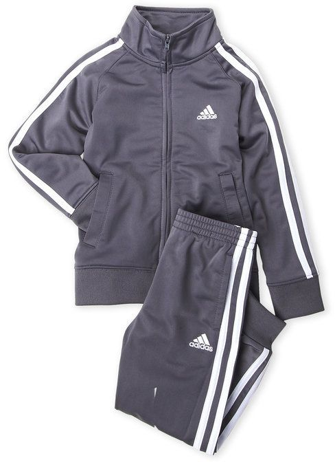 37e2c7a21 adidas Boys 4-7) Two-Piece Tricot Jacket   Jogger Pants Set ...