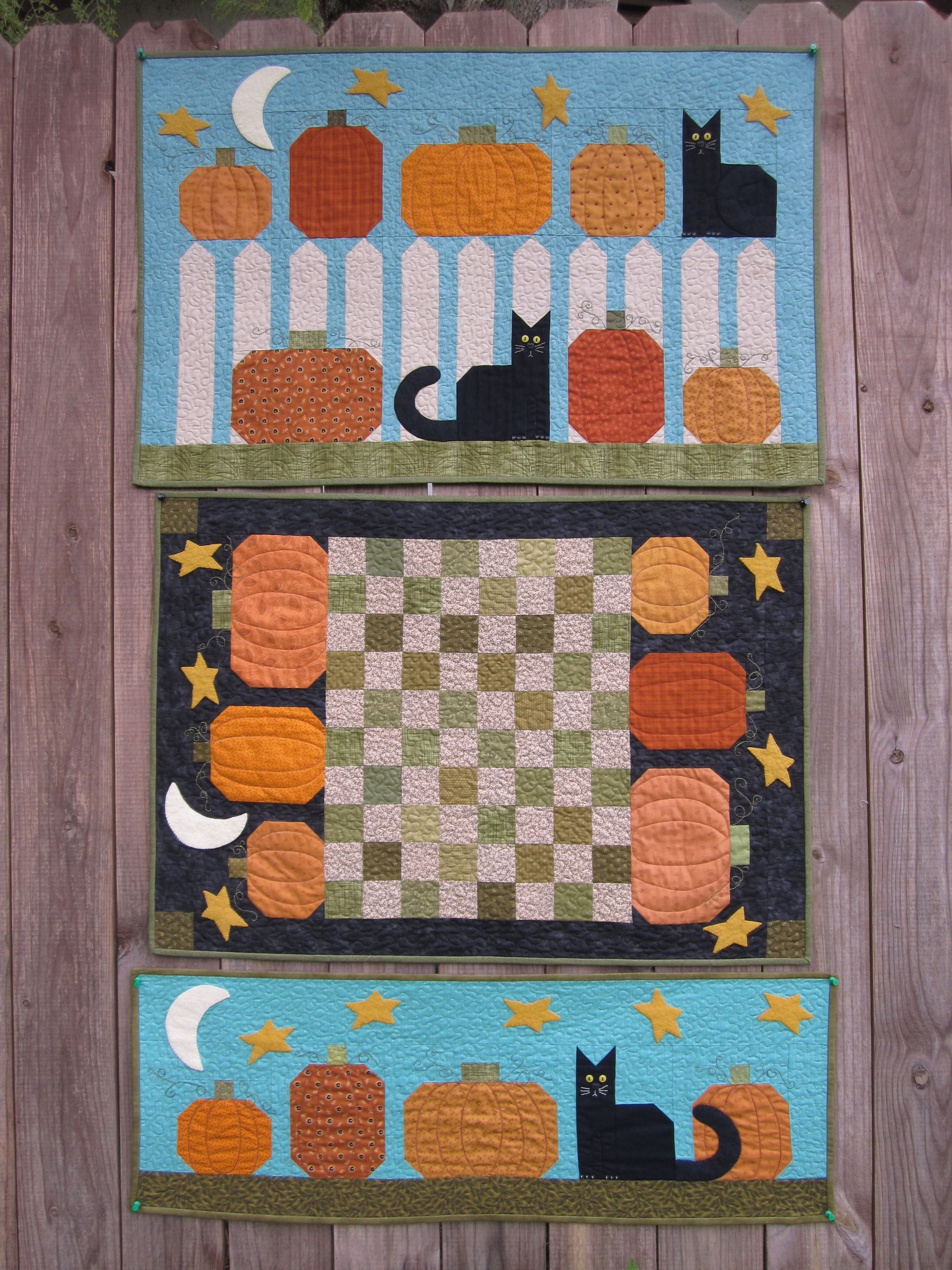 Pin On Halloween Quilts