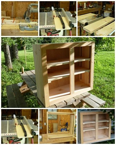 Building Kitchen Wall Cabinets Copper Hoods Cabinet Diy How To Build Your Own Step By Instructions Make Picture Tutorials Craft