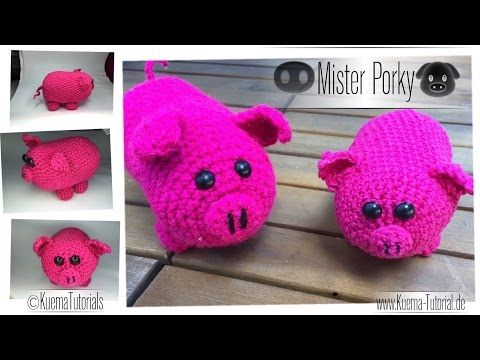 Amigurumi Schwein Mister Porky Pig Eng Sub Youtube