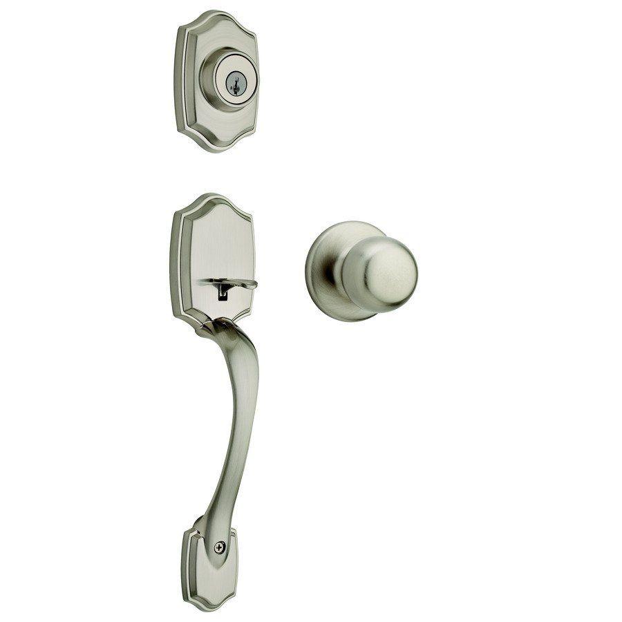 Weiser Brentwood SmartKey Residential Single-Lock Keyed Door Handleset | Lowe's Canada