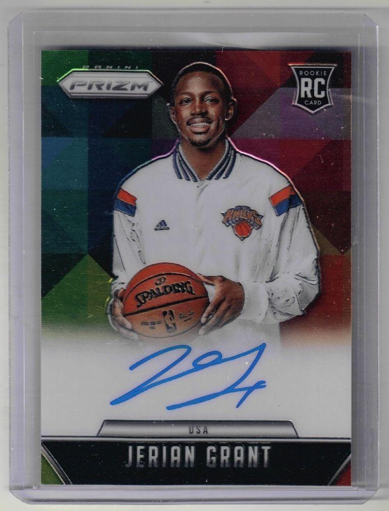 201516 prizm basketball jerian grant auto rookie card