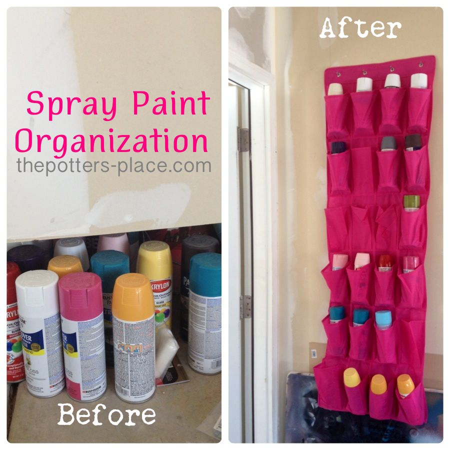 Now Why Didn 39 T I Think Of That Organized Spray Paint Storage Think I 39 D Also Add A Little