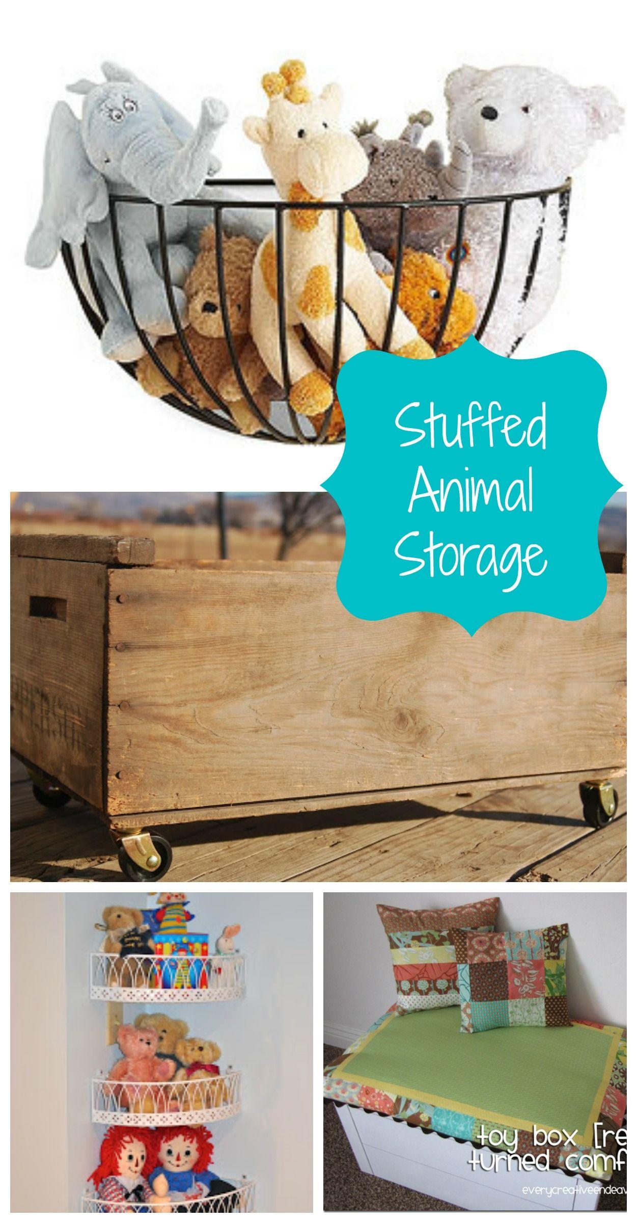 Nursery Stuffed Animal Storage   Roundup From Creative Ramblings