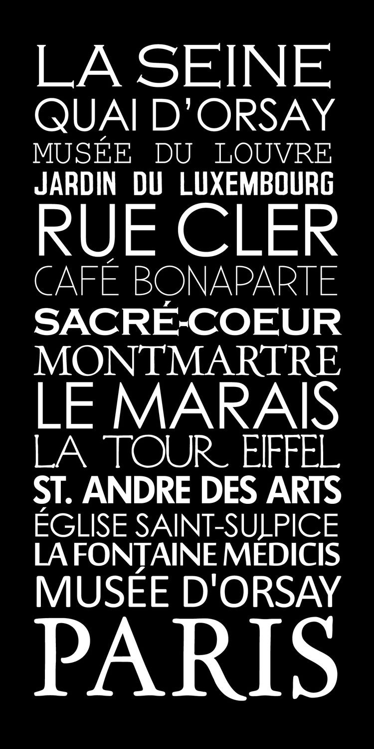 Paris French Bus Roll SUBWAY Sign Art STOCK by GeezeesCustomCanvas  To go on the fireplace mantle.