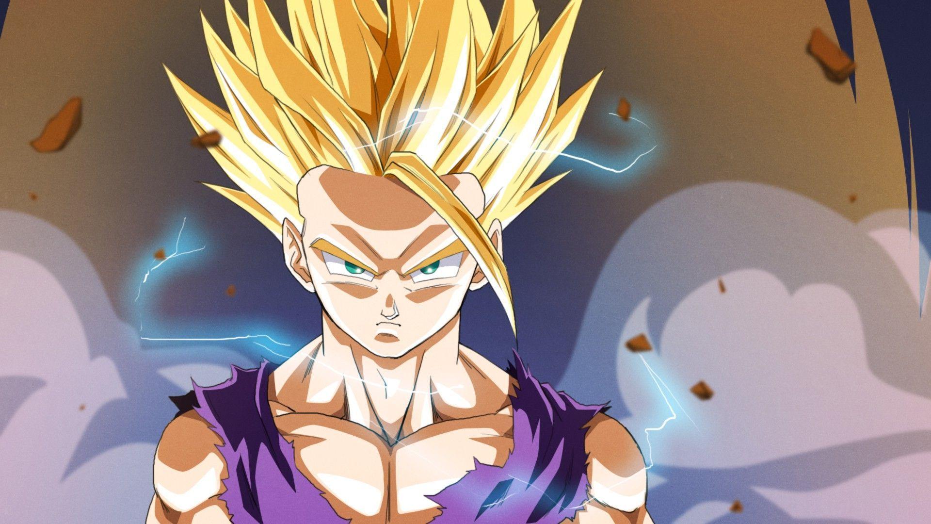 Super Saiyan Goku Anime Hd Wallpaper 1920x1080 5455