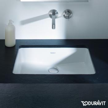 duravit vero einbauwaschtisch wei 0330480000 reuter onlineshop sanit r handwaschbecken. Black Bedroom Furniture Sets. Home Design Ideas