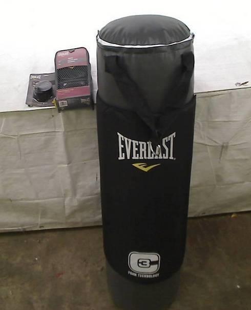 Everlast C3 Foam Heavy Bag Kit (Grey, 100-Pounds)
