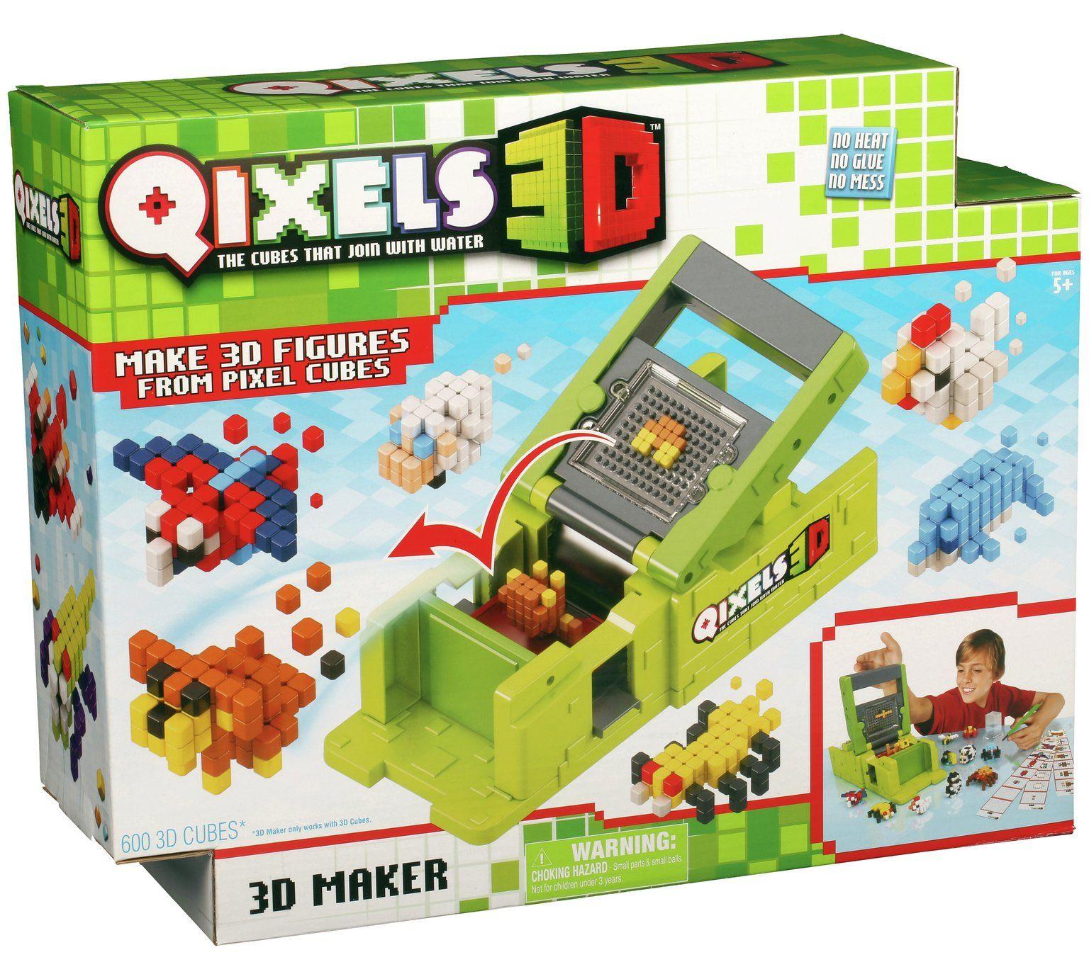 Buy Qixels 3D Maker at Argos visit Argos to shop