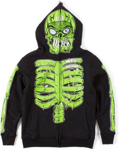 Metal Mulisha Boys EG Monster Fleece - Size XL  1ecb7142dff