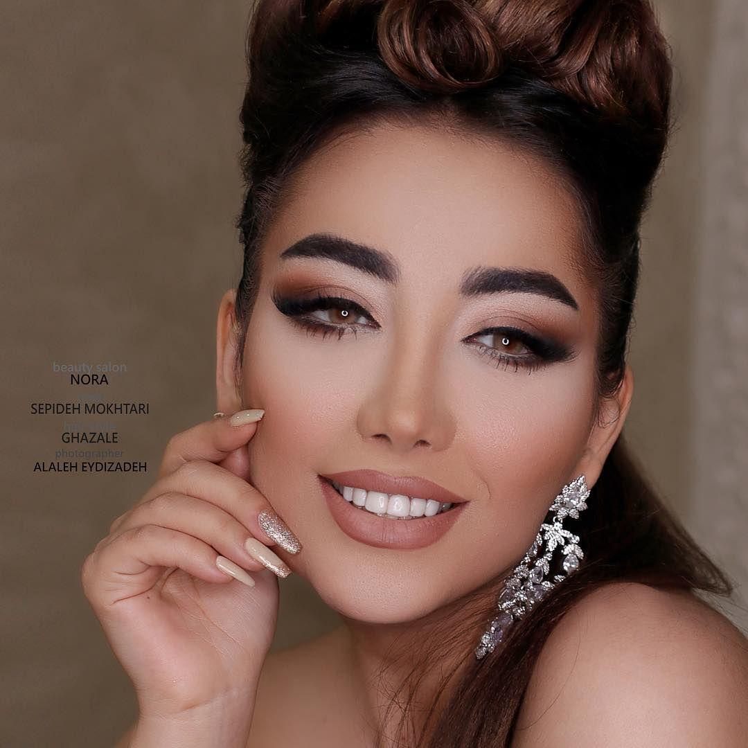 Sepide Mokhtari سپيده مختاري On Instagram Makeup By Me Ghazale Hairstyle Nora Photo Alaleh Eidizadeh Model Ghazalehmvi1 اهواز کیانپارس سالن