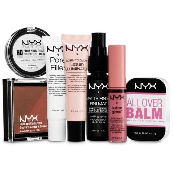 Nyx Multi Tricks Of The Travel Kit 25 Liked On Polyvore