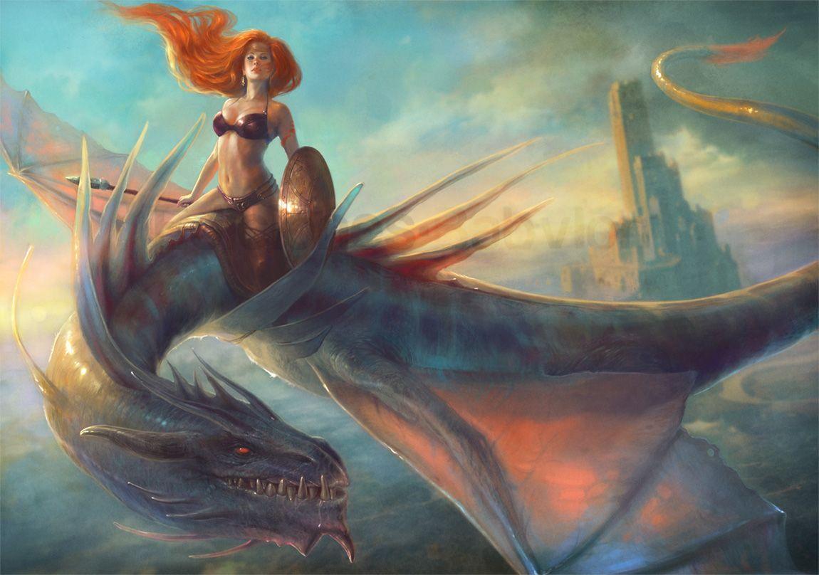 Sobre el dragón, por Marta Nael