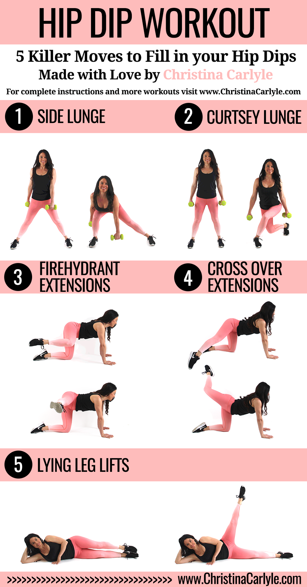 How To Lose Hip Dips Working Wonders Pinterest Workout