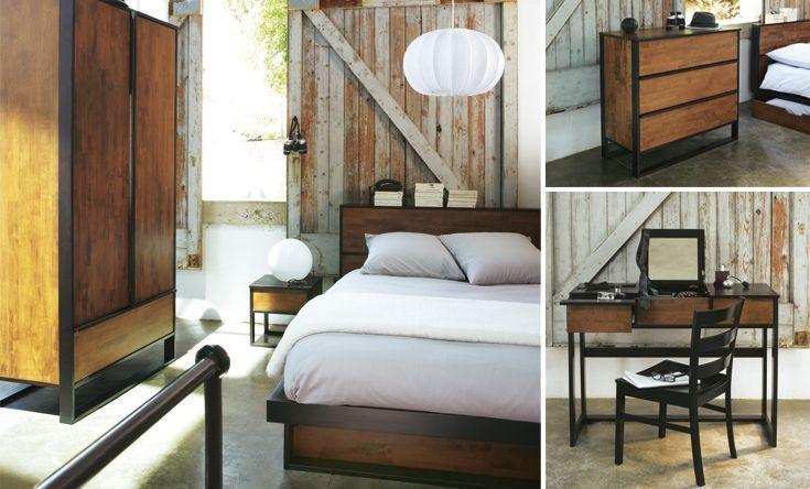 La chambre Spirit - La chambre à coucher - Idées déco - Alinéa ...
