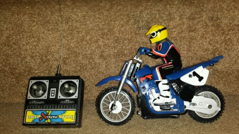2001 tyco mini xtreme cycle rc dirt bike jeremy mcgrath. Black Bedroom Furniture Sets. Home Design Ideas