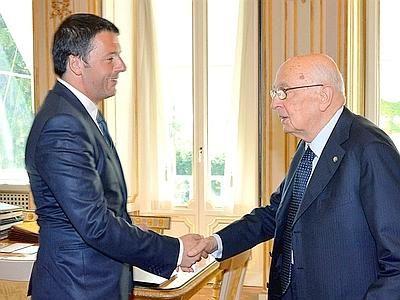 Informazione Contro!: Renzi e Napolitano: riforme con o senza B.