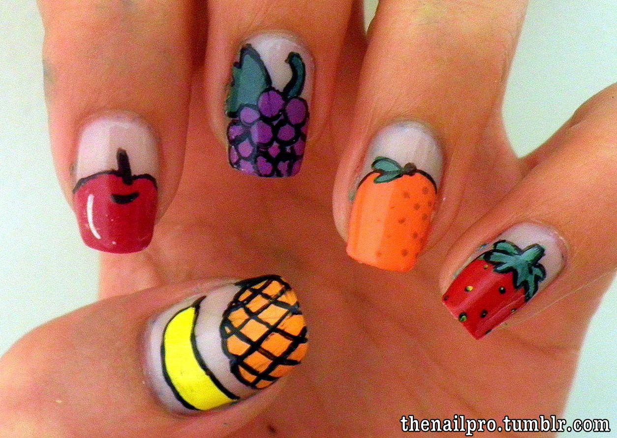 fruit nail designs - Google Search | Nails | Pinterest | Fruit nail ...