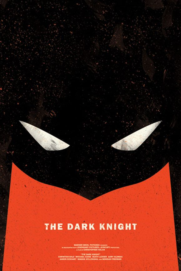 The Dark Knight : Creative and Minimal Movie Posters
