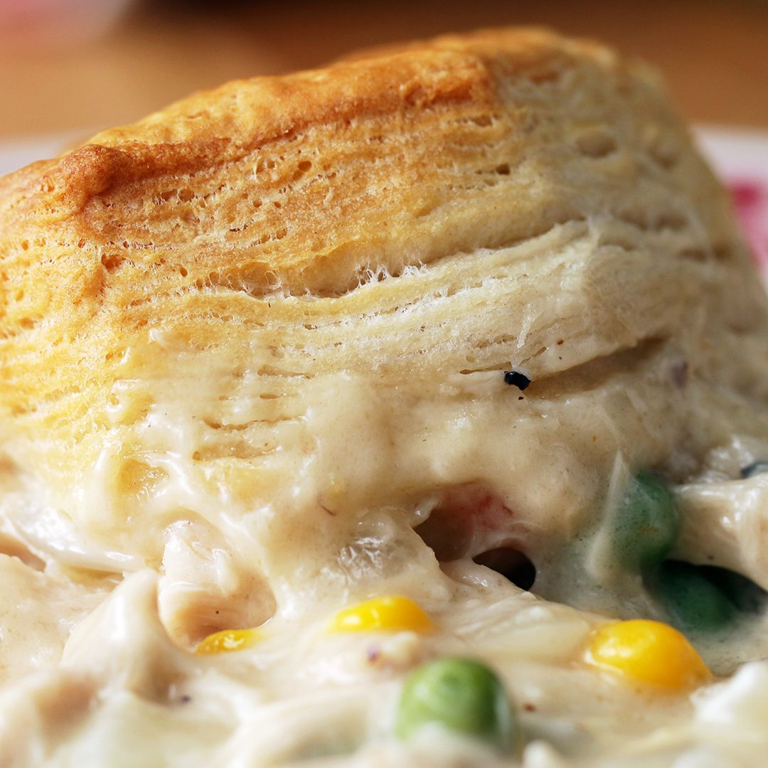 This chicken and biscuits bake is the ultimate comfort food food this chicken and biscuits bake is the ultimate comfort food forumfinder Choice Image