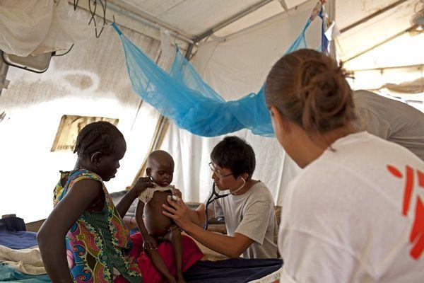 """""""La acción humanitaria en 2011-2012: tocando fondo""""  Sudán del Sur © Mackenzie Knowles-Coursin"""