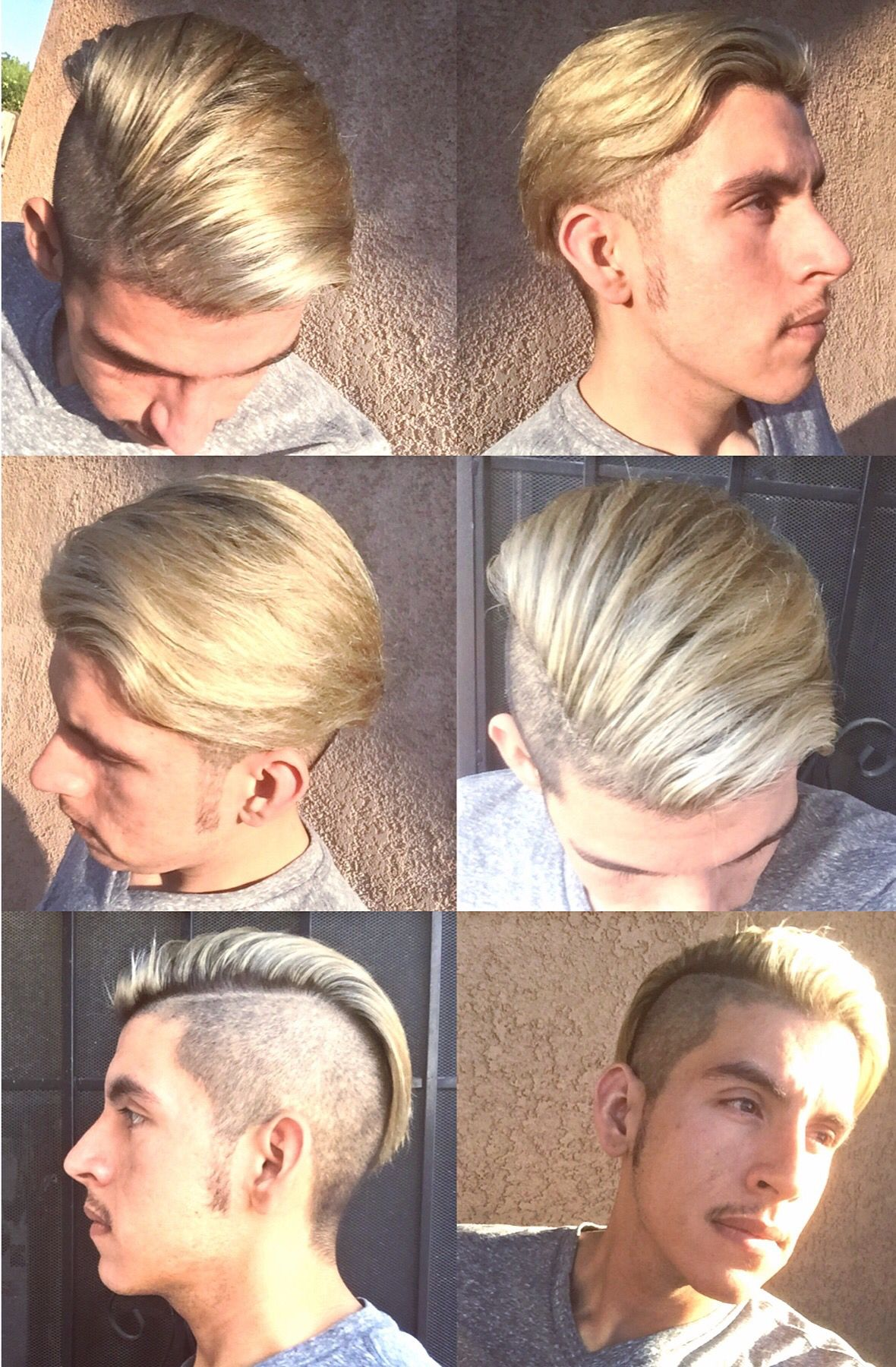 Undercut With A Small Hardpart. Colored With Pravana