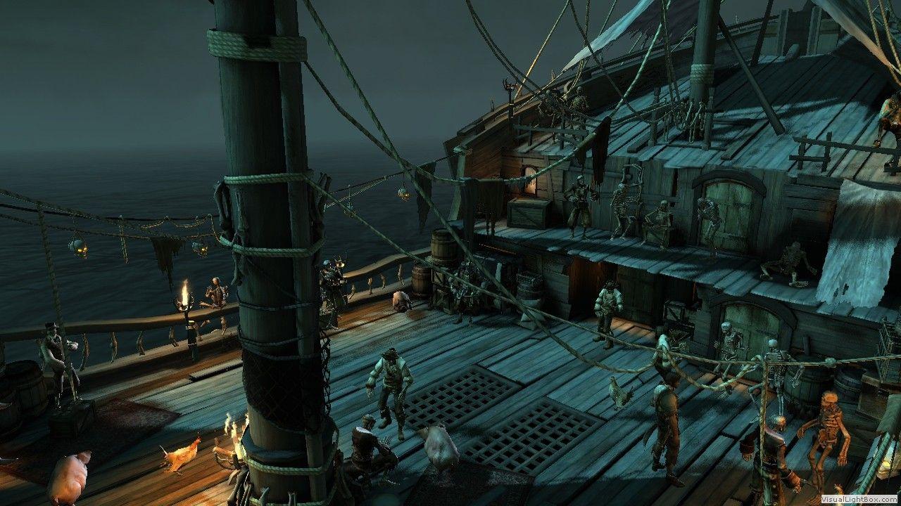 Pirate Ship Deck Pirates Of The Caribbean Armada Damned Diagram Piratediary Ps3 Game