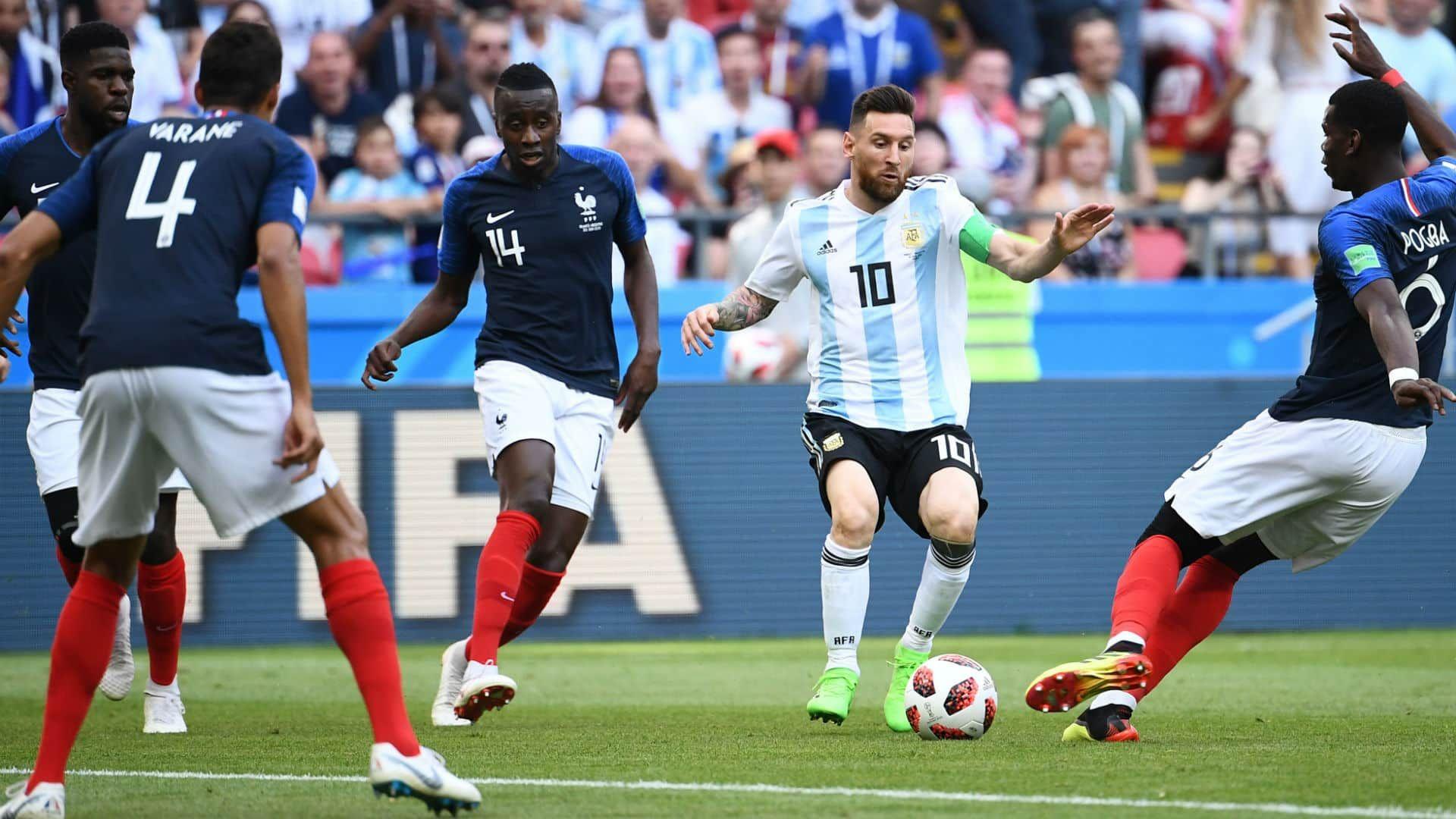 Este jueves reviví Argentina vs. Francia en Rusia 2018 por