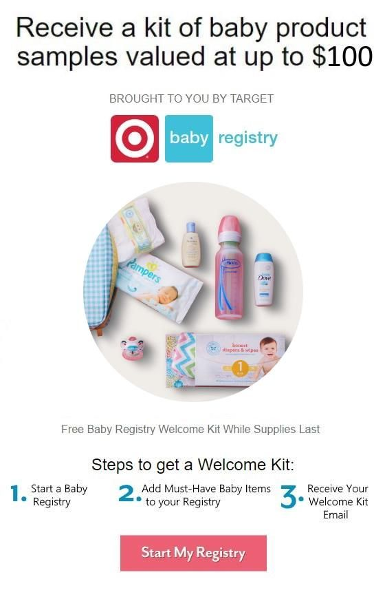FREE Welcome Kit from Target | Free baby stuff, Target ...