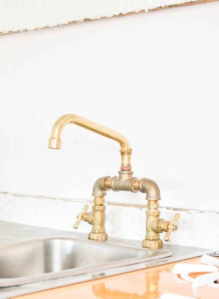 DIY Plumbing: Brass Bridge Faucet