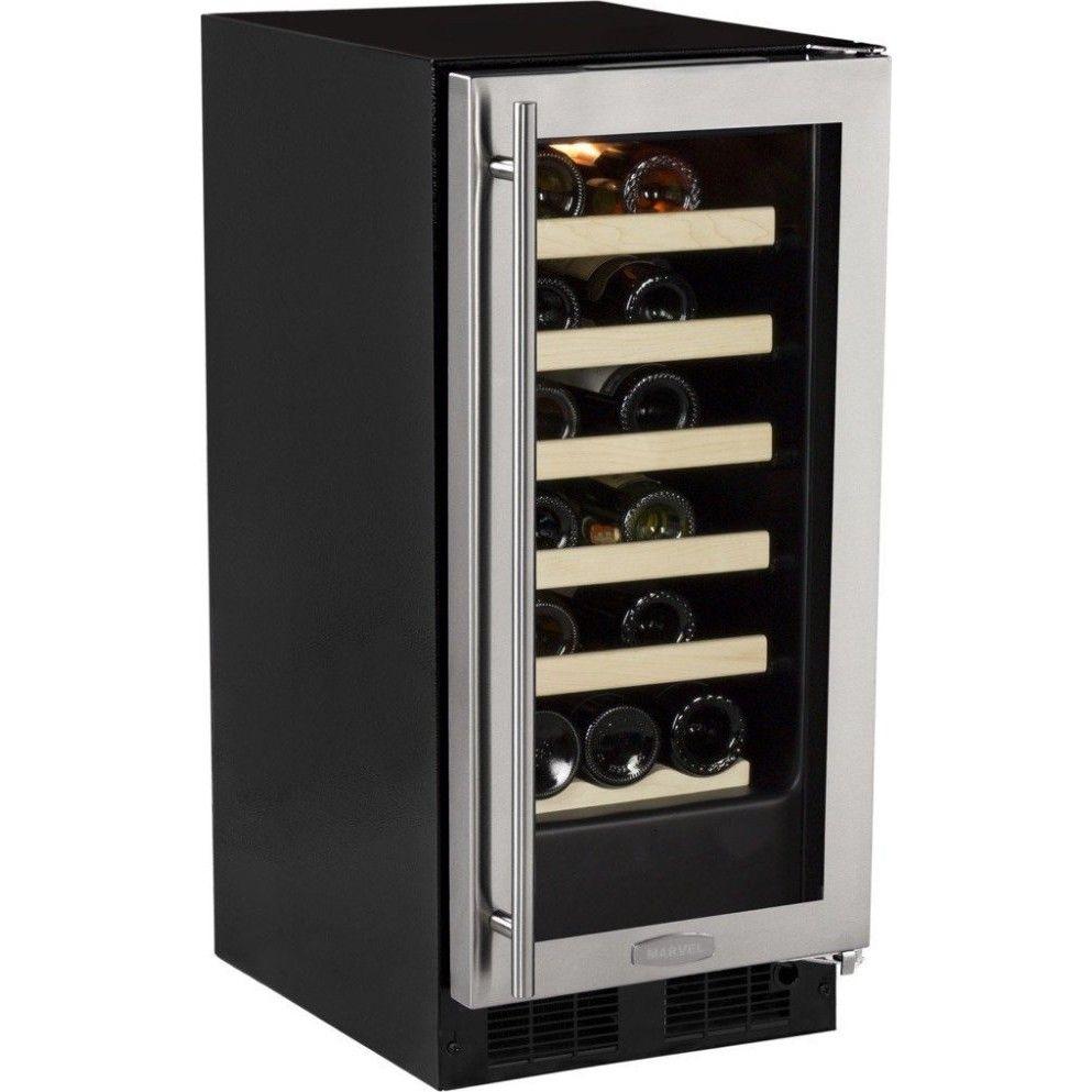 """ML15WSG1RS Marvel 15"""" Builtin Wine Storage 24Bottle"""