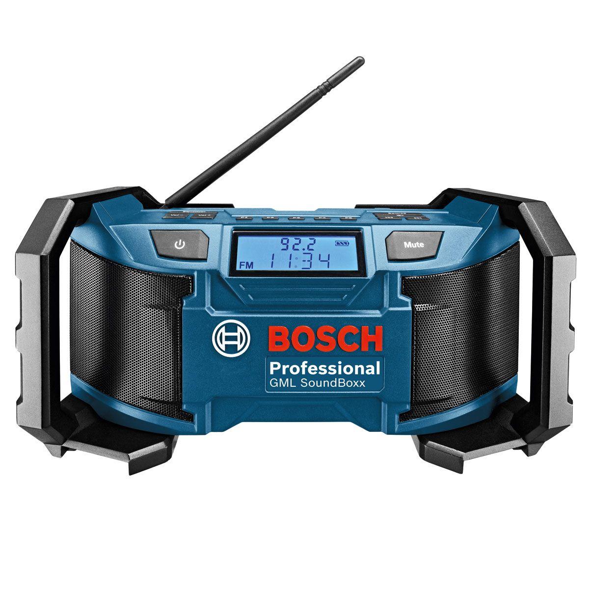 Bosch Gml Soundboxx Jobsite Radio Radio Bosch Fm Radio
