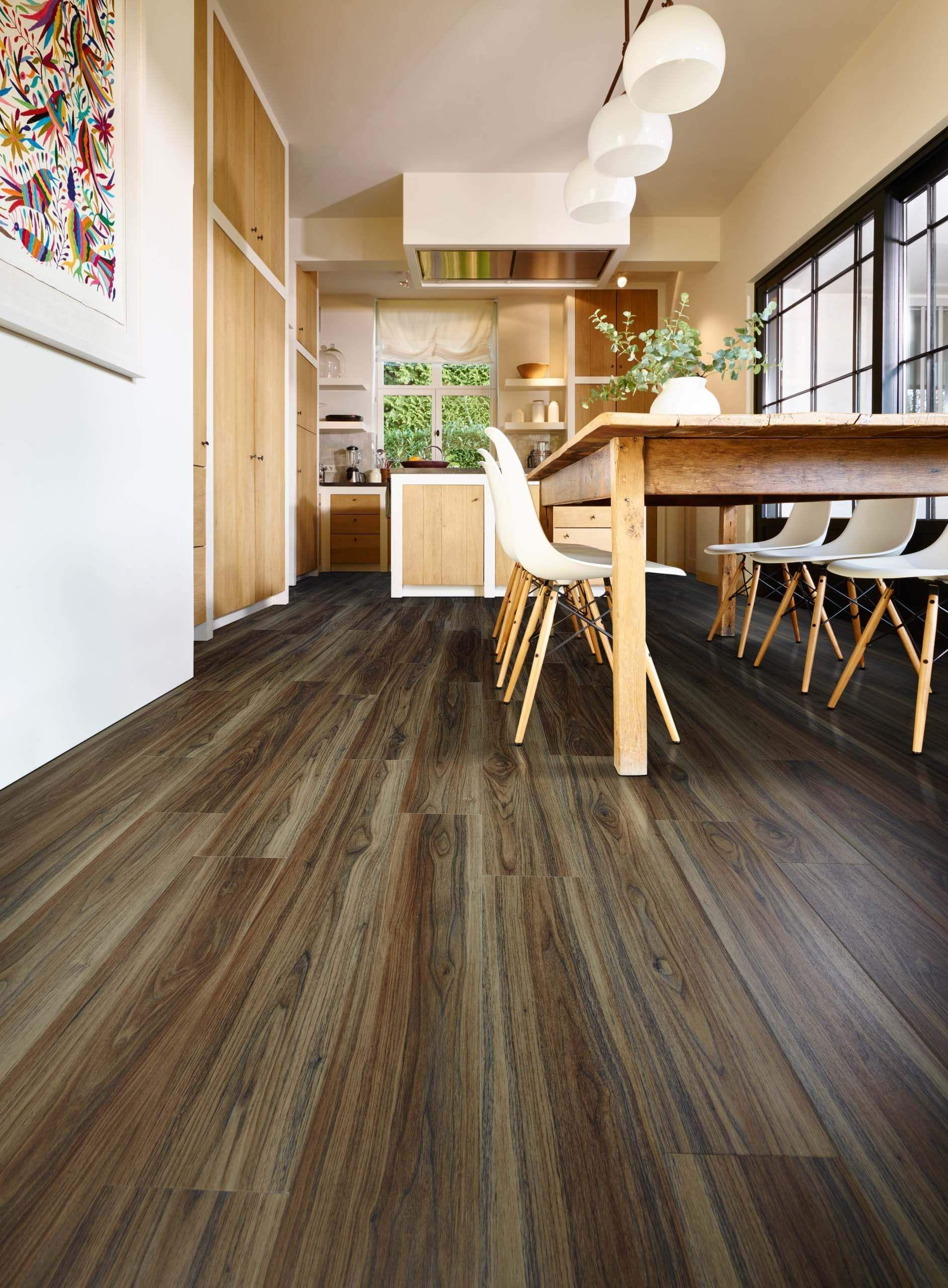 persian walnut wood effect luxury vinyl flooring moduleo