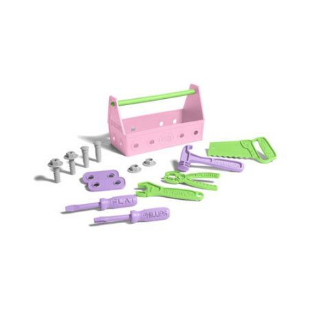 Green Toys Tool Set, Pink, Multicolor