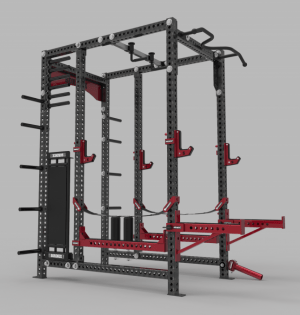 This Is A Heavy Duty Squat Rack It Is Getting Harder And Hard To Pin Stuff On Pinterest