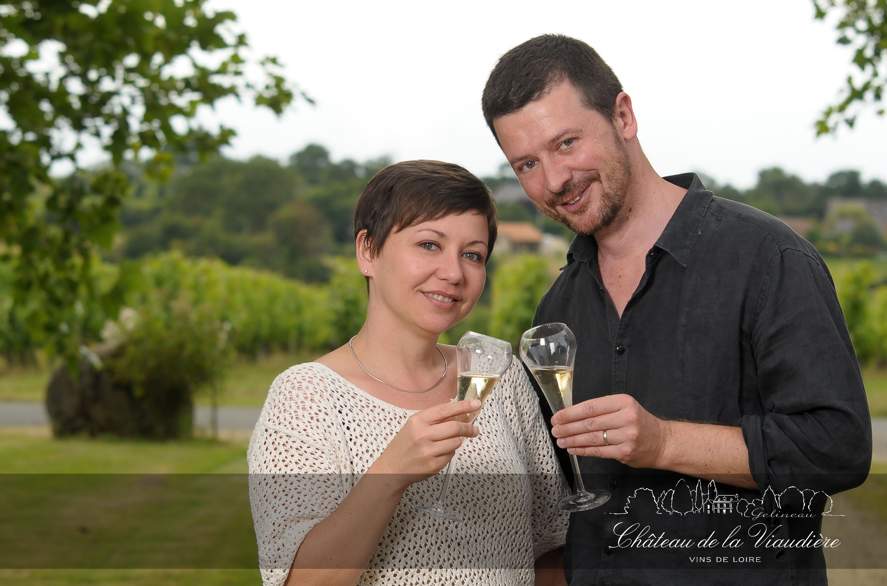 Agnès et Pierre-Antoine Giovannoni, viticulteurs exploitants depuis 20 ans.