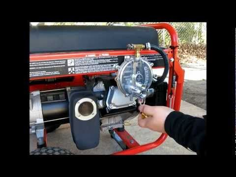 Generator On Propane Or Natural Gas