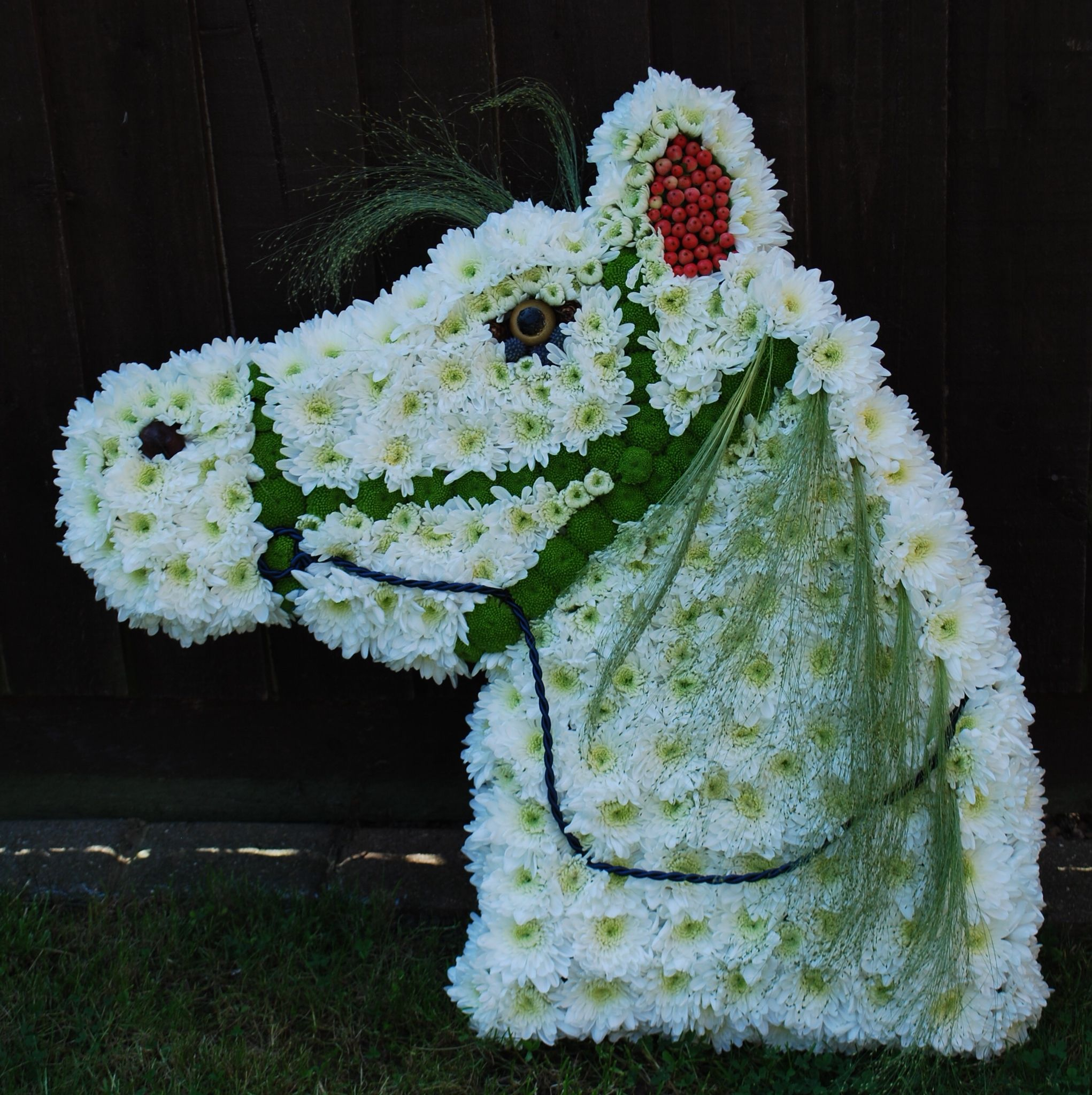 Horse Tribute Ass Pinterest Funeral Flowers And Beautiful Flowers
