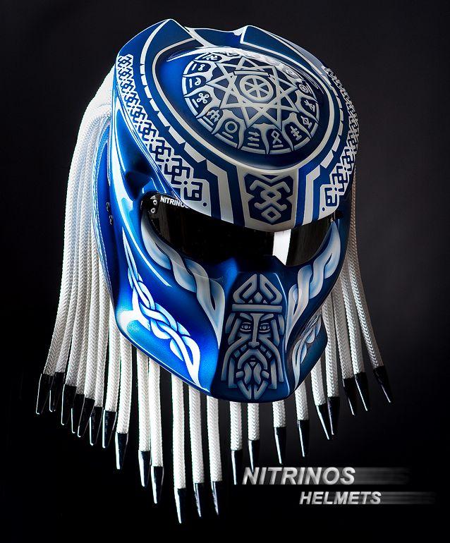 Original Predator Helmet Is Composite Kevlar Carbon Shell