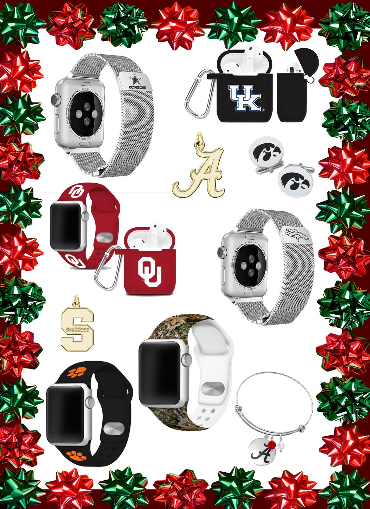 Great Christmas Gift Ideas for College and NFL Sports Fans