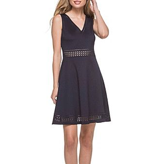 GUESS Fit And Flare Dress
