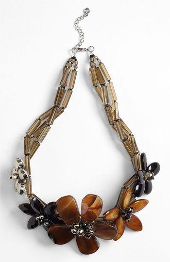 Nakamol Design Five Flower Necklace | Nordstrom