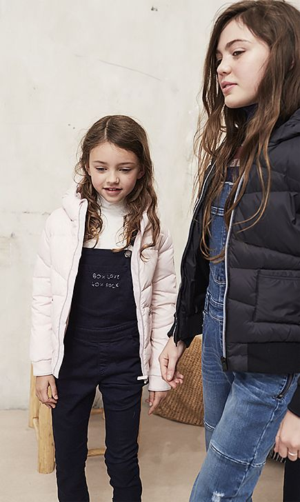 Girls' Denim Dungarees | IKKS Kidswear | Autumn 2016