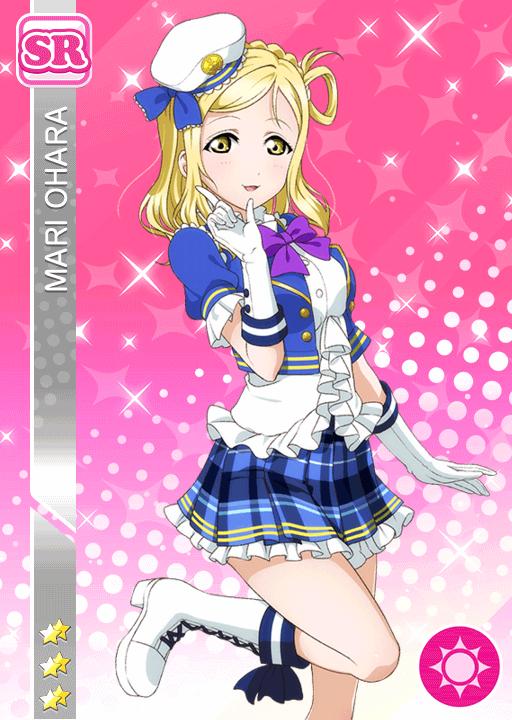 #935 Ohara Mari SR Idolized