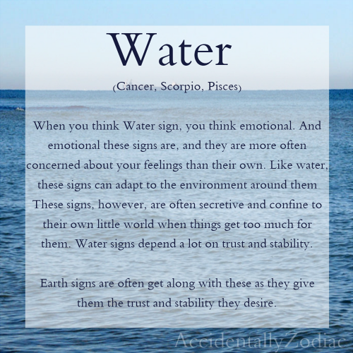 Water Signs of the Zodiac ;; { Cancer & #4326; }