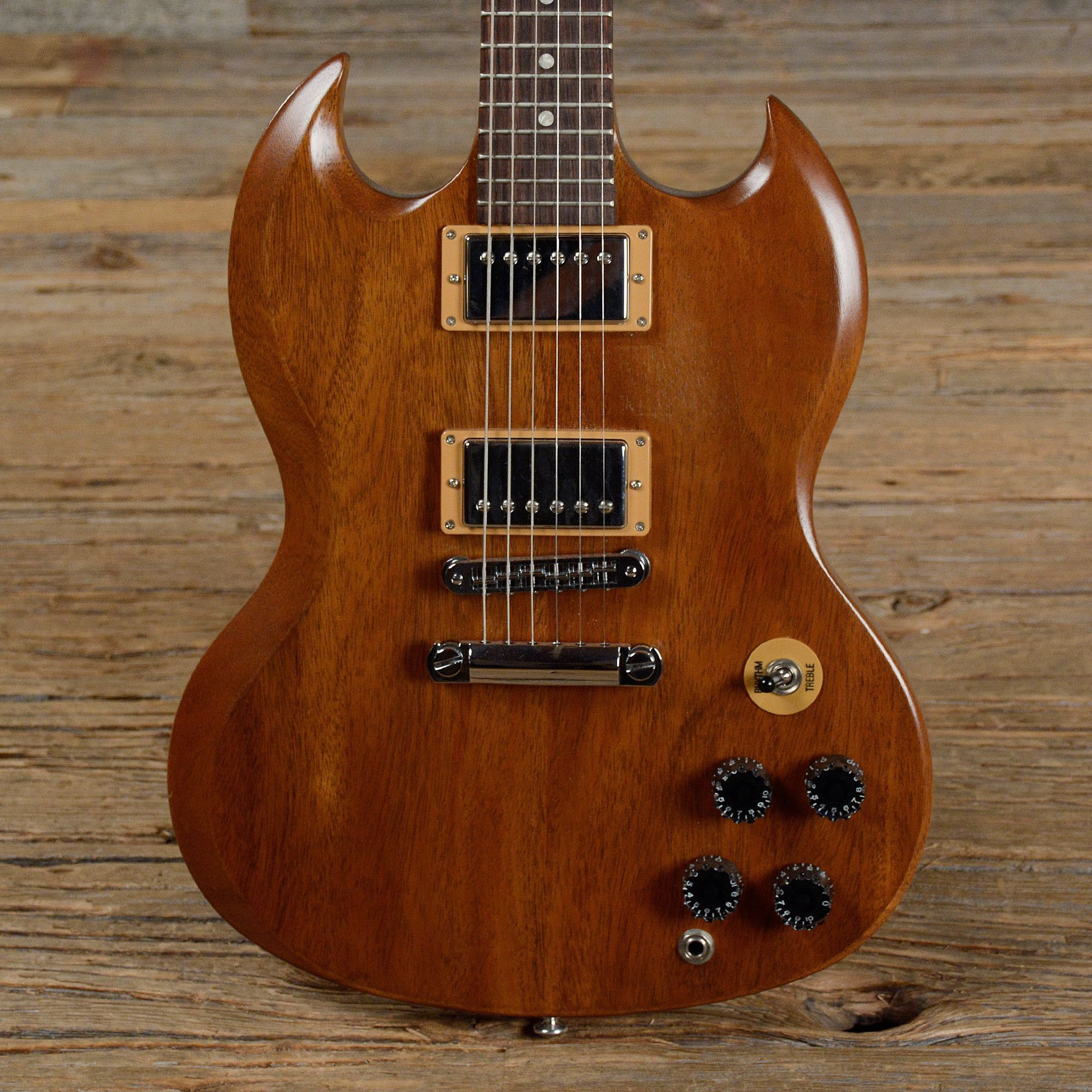 gibson sg special walnut vintage gloss used s427 chicago music exchange supergreat sg. Black Bedroom Furniture Sets. Home Design Ideas