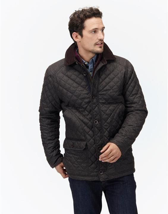 DENHOLM Men's Quilted Jacket | Men's | Pinterest | Quilted jacket ... : mens quilted coats uk - Adamdwight.com