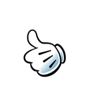 Mickey Mouse S Hand As An Emoji Thumbs Up Drawing By Disney Disney Thumbs Up Drawing Disney Emoji Thumbs Up Icon